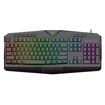 Picture of T-Dagger Submarine RGB Colour Lighting|104-107 Key|150cm Cable|19 Non-Conflict Keys Gaming Keyboard - Black