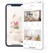 Picture of Yi Smart Home 3 Static 1080p 107 Micro SD Slot Camera White