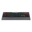 Picture of Redragon BRAHMA PRO RGB MECHANICAL Gaming Keyboard - Black