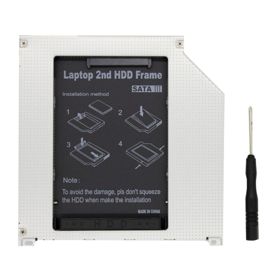 Picture of OEM 9.5mm Notebook SATA HDD|SSD Caddy