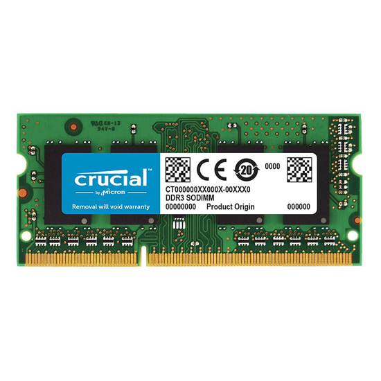 Picture of Crucial 2GB DDR3L 1600MHz SO-DIMM