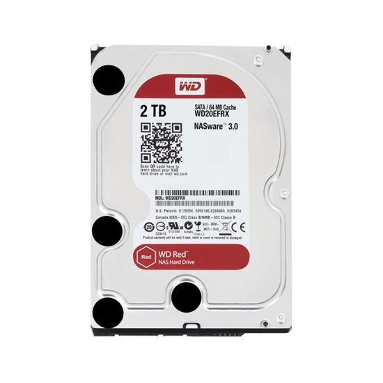 Picture of WD Red 2TB 3.5 SATA 64MB