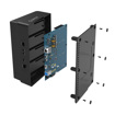 Picture of Orico 4 Bay USB3.0 to 2.5 / 3.5 HDD|SSD Clone Dock Black