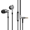 Picture of 1MORE HiFi E1001 Triple Driver Hi-Res Certified 3.5mm In-Ear Headphones - Silver