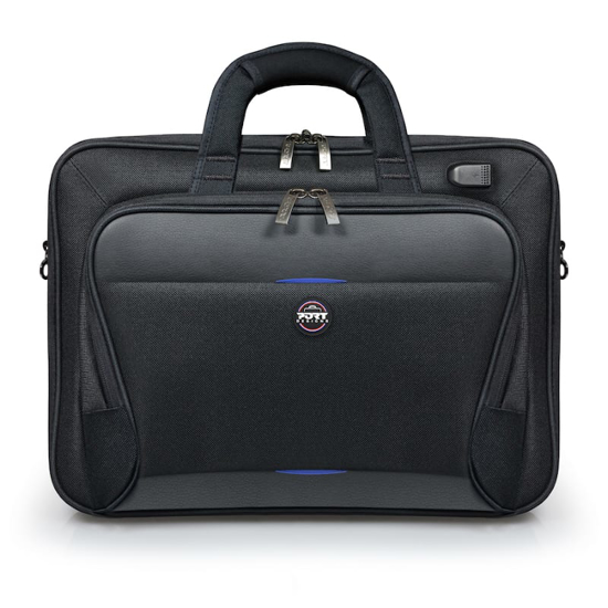 Picture of 6 Tablet compartment Large front pocket for accessories