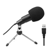 Picture of Fifine K668 Uni-Directional USB Condensor Microphone with Tripod - Black