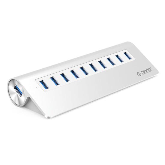 Picture of ORICO HUB USB3.0 (PWR) 10XUSB ALU