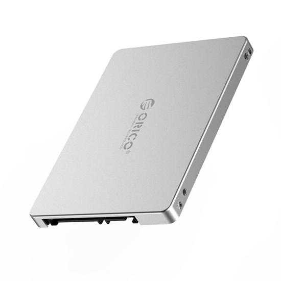 Picture of Orico M.2(2230/2242/2260/2280) NGFF/MSATA(Input) to SATA(Output - 2.5 SSD Enclosure Form Factor) Convertor (2TB Max) - Aluminium