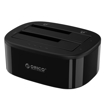 Picture of Orico 2 Bay 2.5 / 3.5 USB3.0 HDD|SSD Standalone Clone Dock - Black