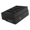 Picture of Orico 4 Bay 2.5 / 3.5 USB3.0 HDD|SSD Clone Dock - Blac