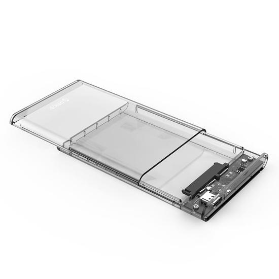 Picture of Orico 2.5 USB-C Transparent HDD Enclosure