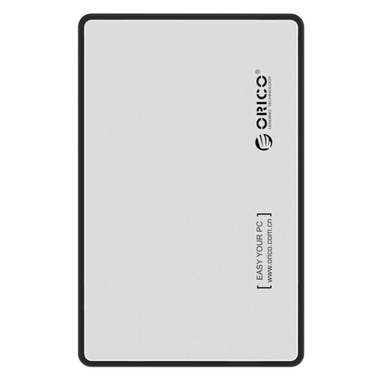 Picture of Orico 2.5 USB3.0 External HDD Enclosure - Silver