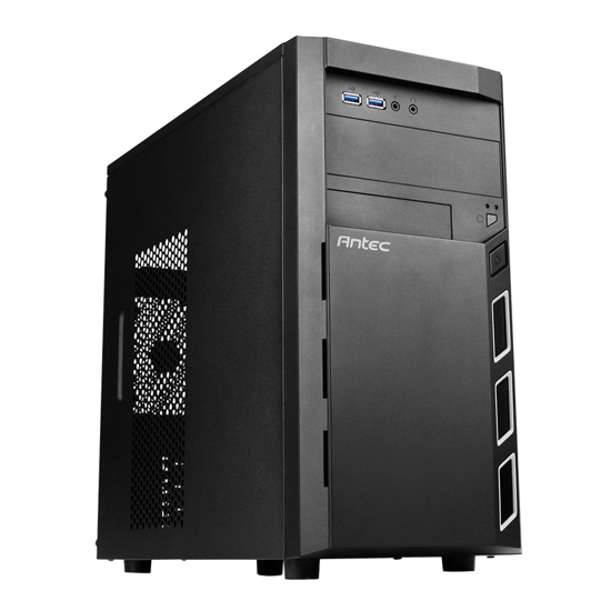 Picture of Antec VSK3000 Elite (GPU 335mm) Micro ATX|Mini ITX Chassis Black