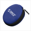 Picture of Orico Headset/Cable EVA case round - Blue