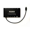 Picture of Port USB Type-C 3 x USB3.0 1 x Aux 12 x Micro+SD Card Reader 1 x Mini DP 1 x RJ45 1 x HDMI 1 x VGA 1 x Type-C PD Dock - Black