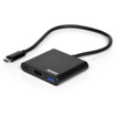 Picture of Port USB Type-C to 1 x HDMI|1 x USB3.0|1 x Type-C 60W PD Dock - Black