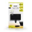 Picture of Port USB Type-C to 4 x USB3.0 5Gbps 30cm 4 Port Hub - Black