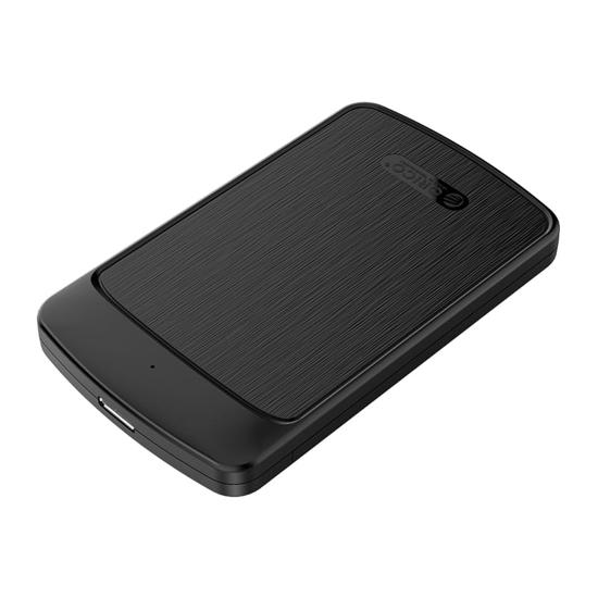 Picture of Orico 2.5 5Gbps|USB3.0|Supports up to 4TB - Hard Drive Enclosure - Black