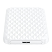 Picture of Orico 2.5 5Gbps|USB3.0|Diamond Pattern Design|Supports up to 4TB - Hard Drive Enclosure - White