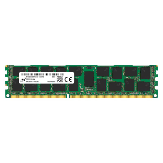 Picture of Micron 8GB DDR3 1600MHz ECC Unbuffered Dimm