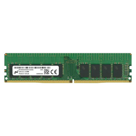 Picture of Micron 16GB DDR4 2666MHz ECC Unbuffered Dimm