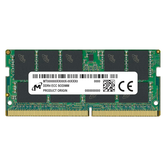 Picture of Micron 32GB DDR4 2666MHz ECC SO Dimm