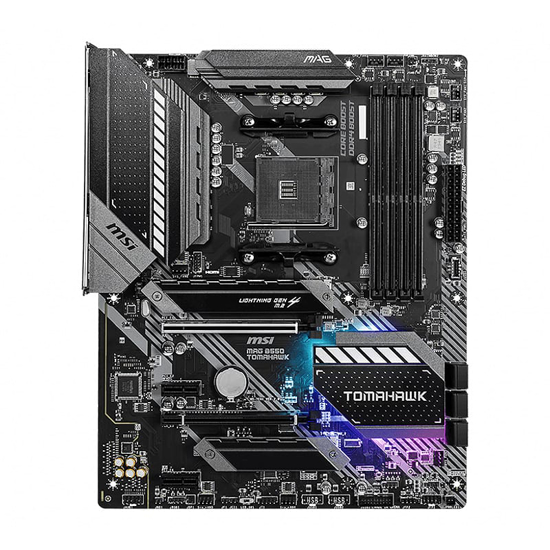 Picture of MSI MAG B550 Tomahawk MAD AM4 ATX Gaming Motherboard