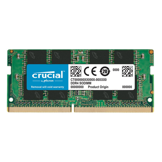Picture of Crucial 8GB DDR4 2666MHz SO-DIMM Single Rank