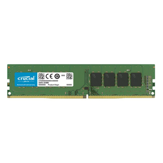 Picture of Crucial 16GB DDR4 2666MHz Desktop Memory