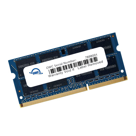 Picture of OWC Mac 8GB DDR3 1333MHz SO-DIMM