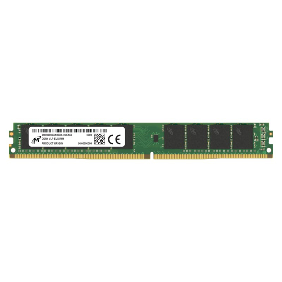 Picture of Micron 16GB DDR4 3200MHz VLP ECC Unbuffered Dimm