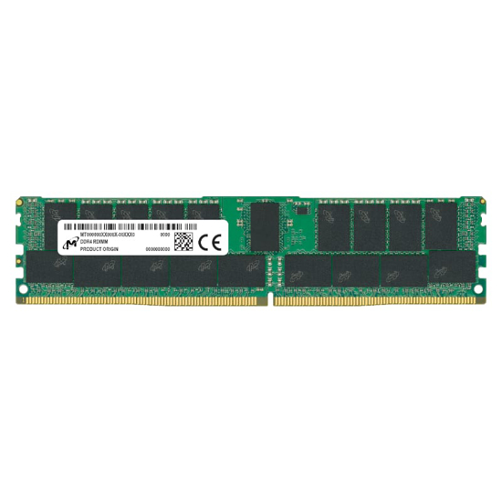 Picture of Micron 32GB DDR4 3200MHz Single Rank Registered Dimm