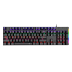 Picture of T-DAGGER Naxos Rainbow Colour Lighting|150cm Cable|Mechanical Gaming Keyboard - Black