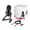 Picture of Fifine K678 Broadcasting Uni-Directional Cardioid Studio Condenser Microphone - Black