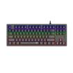 Picture of T-Dagger Bali Rainbow Backlit|150cm Cable|10-keyless Short Body Design|Mechanical Keyboard - Black