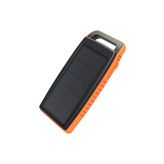 Picture of RAVPOWER 15000mAh 2x USB|IP66|Solar Power Bank Black and Orange
