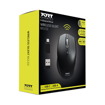 Picture of Port Wireless Silent 3600DPI 3 Button USB and Type-C Dongle Mouse - Black