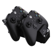 Picture of SPARKFOX Xbox Series X Dual Controller Charging Dock with 2 x Rechargable Batteries - Black