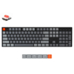 Picture of KeyChron K1 104 Key Low Profile Gateron Mechanical Keyboard RGB Red