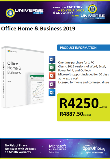 Picture of Office Home & Business 2019