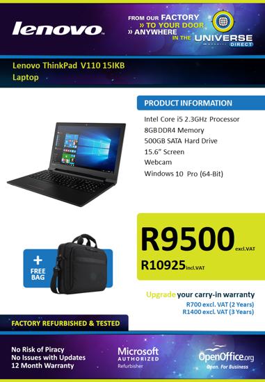 Picture of Lenovo ThinkPad W550s i5 8GB 256GB W10P Laptop