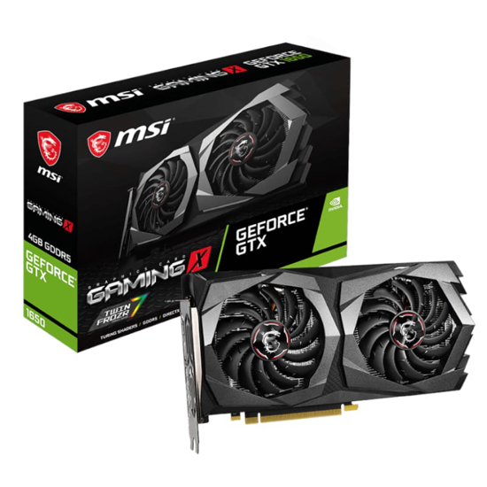 Picture of MSI GEFORCE GTX 1650 GAMING X 4G