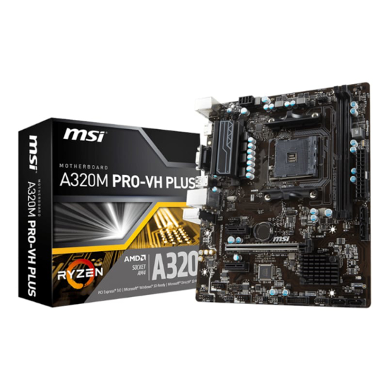 Picture of MSI A320M PRO-VH Motherboard