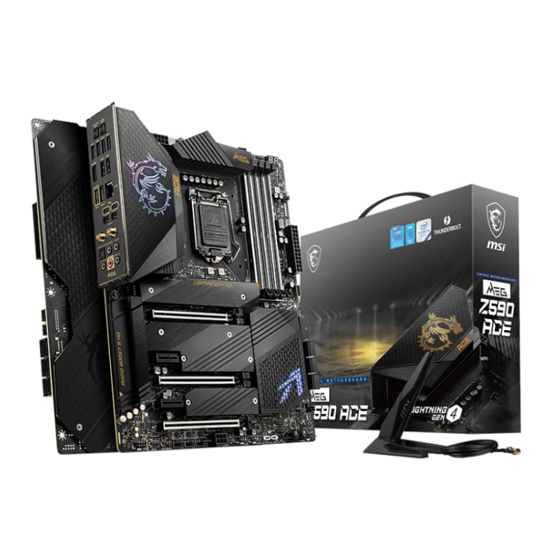 Picture of MSI MEG Z590 ACE