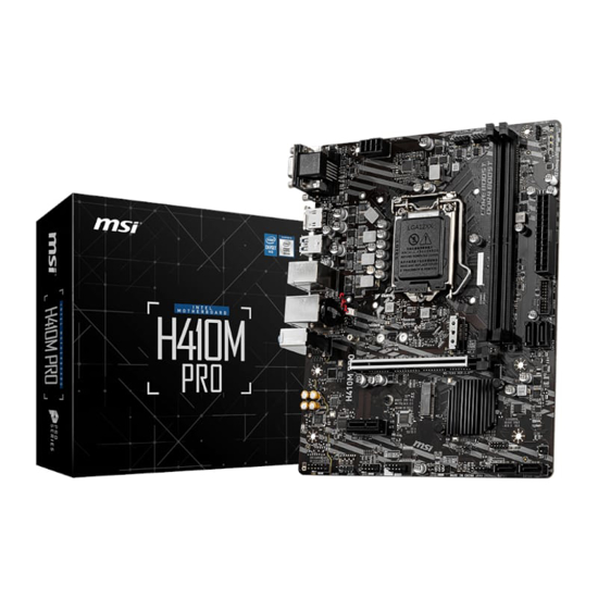 Picture of MSI H410M PRO