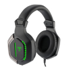 Picture of T-DAGGER OVER-EAR EIGER USB|AUX BK