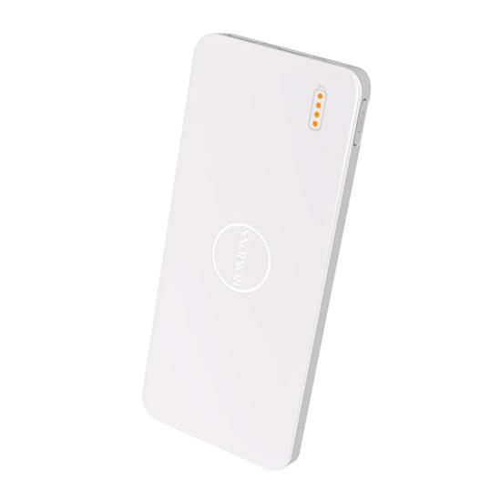 Picture of Romoss Pulse 10 10000mAh Input: Micro USB 5V 2.1A|Output: 1 x USB 5V 2.1A|1 x USB 5V 1A Power Bank - White