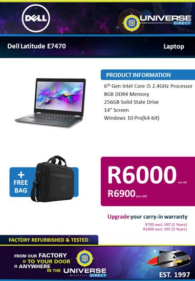 Picture of BEST DEAL-Dell Latitude E7450 i5 8GB 256GB W10P Laptop